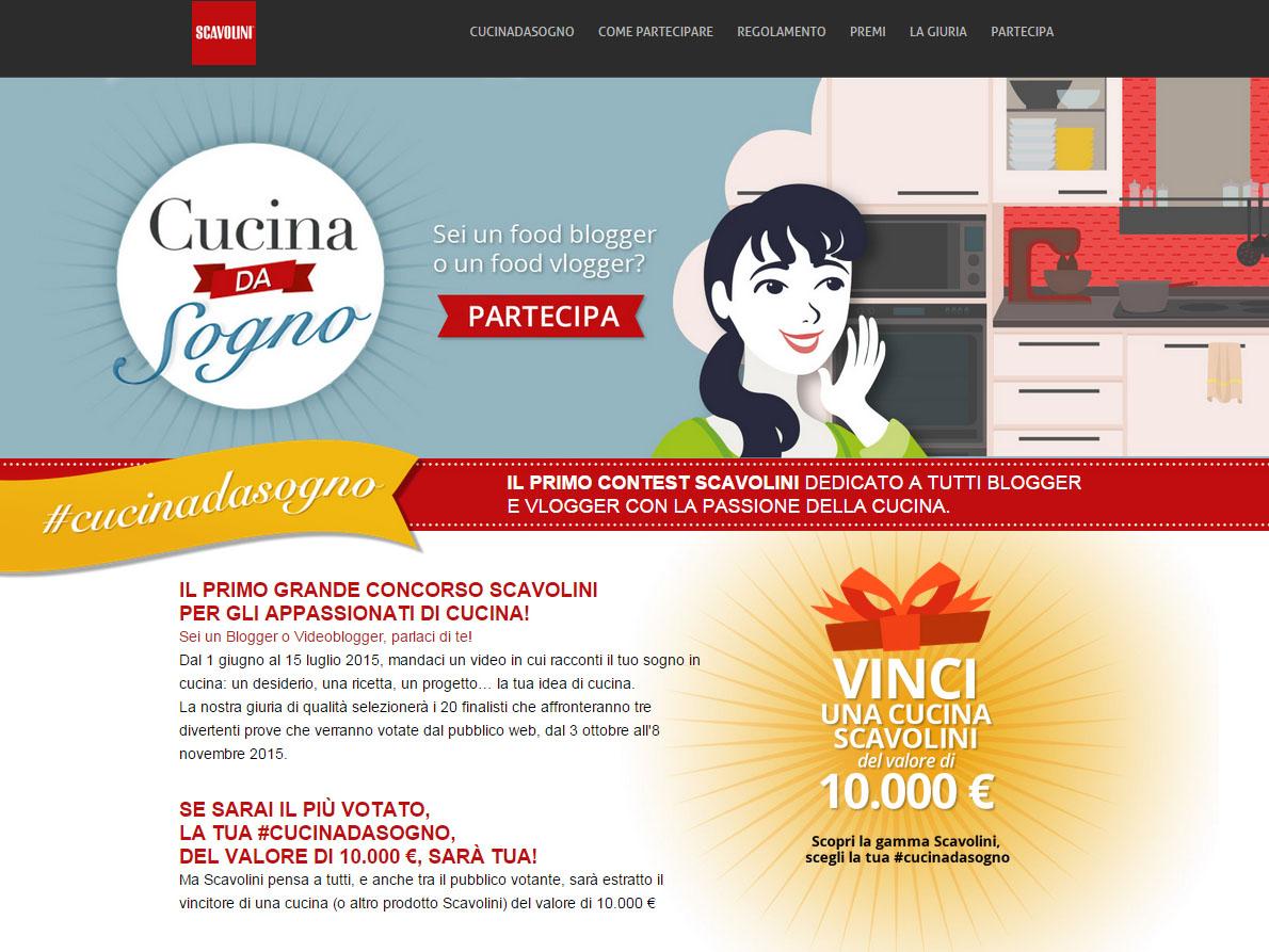 Vinci una cucina da sogno con scavolini casafacile for Vinci una casa