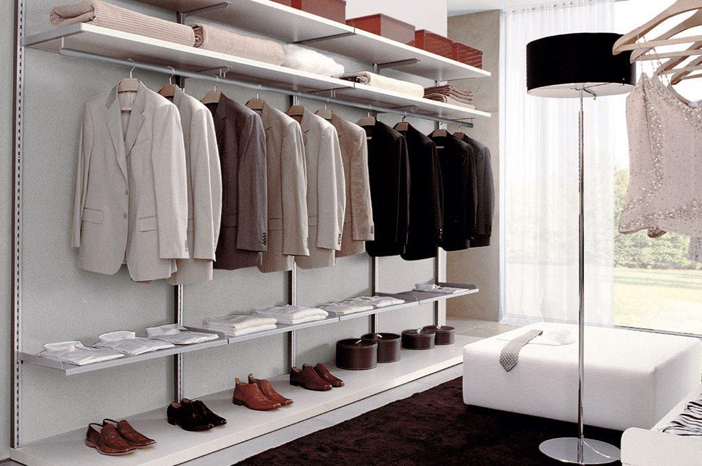 Accessori Cabina Armadio Zalf : Come progettare la cabina armadio su due pareti casafacile