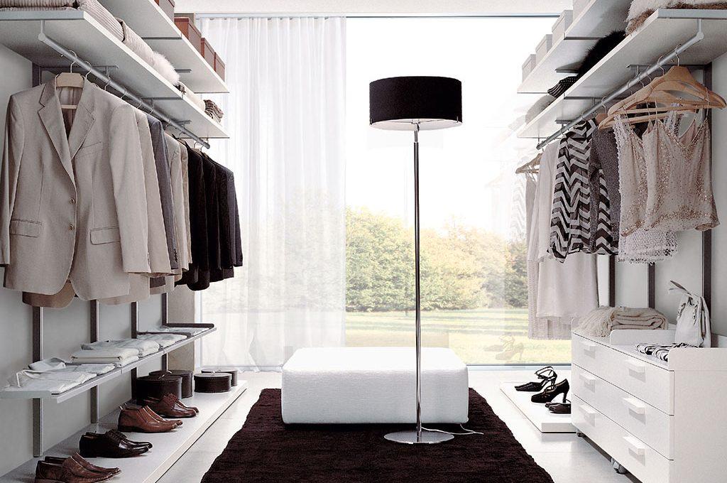 Come progettare la cabina armadio su due pareti casafacile for Progettare la camera
