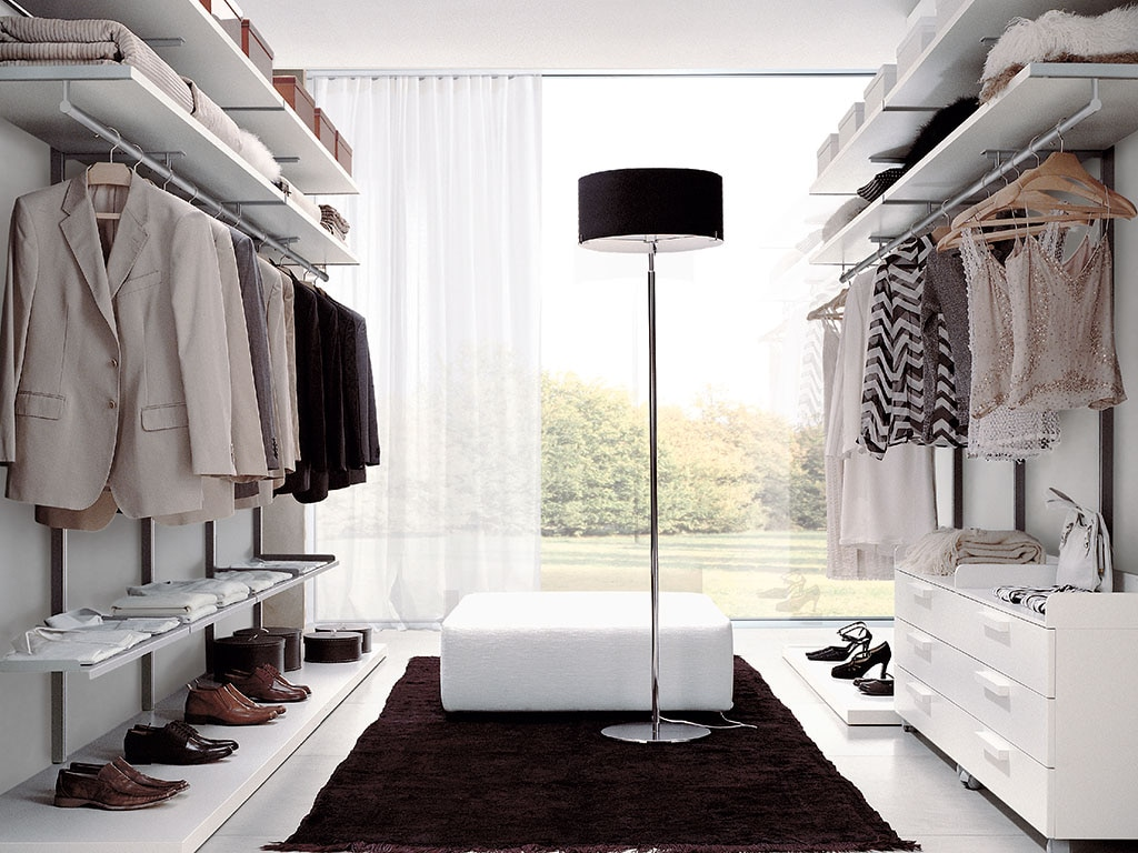 Come progettare la cabina armadio su due pareti casafacile for La cabina armadio