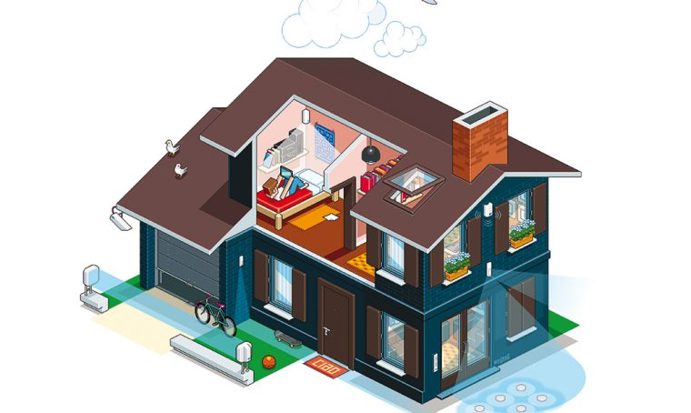 Sistemi d'allarme: come progettare una villetta sicura