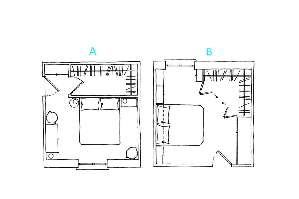 Cabina Armadio Ad Angolo Misure.Come Progettare Una Cabina Armadio Ad Angolo Casafacile