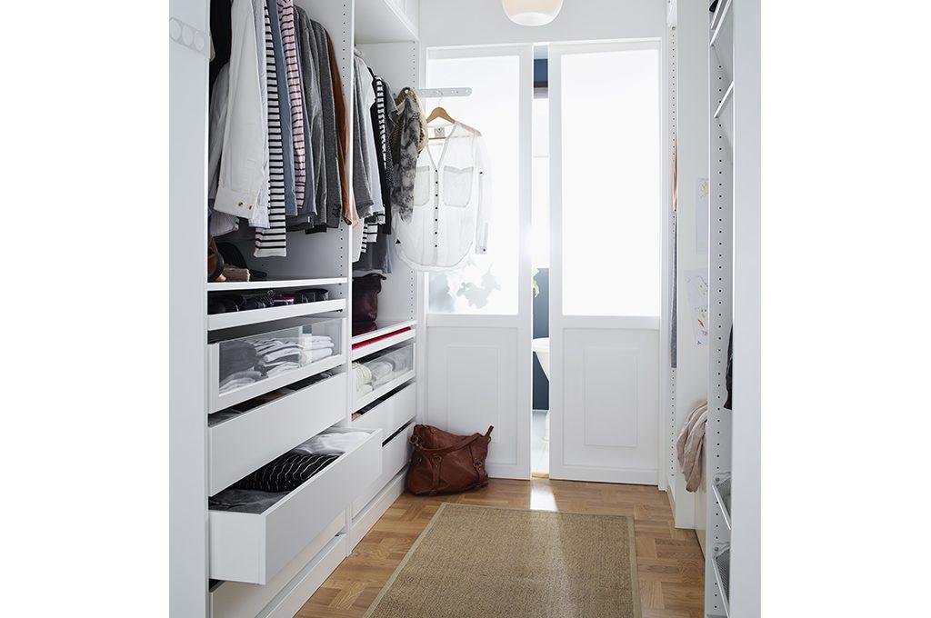 Come progettare la cabina armadio l 39 organizzazione interna casafacile - Cabina armadio mansarda ikea ...