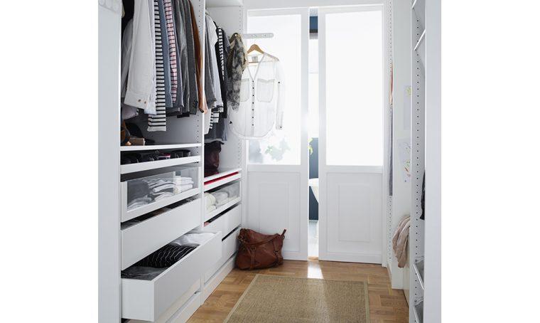 Come progettare la cabina armadio: l'organizzazione interna