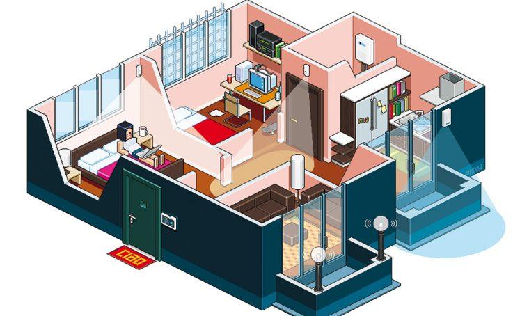 Sistemi d'allarme: come progettare un appartamento sicuro