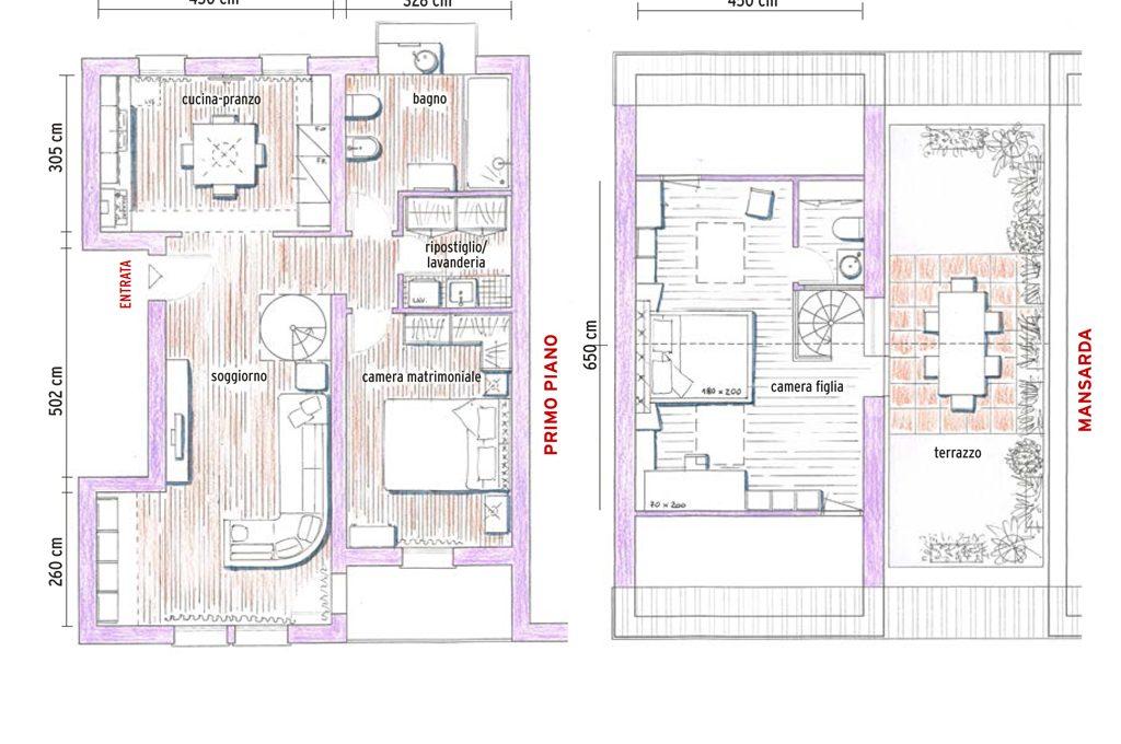 Casa 120 mq su un piano yg54 pineglen for 1 5 piani casa piani