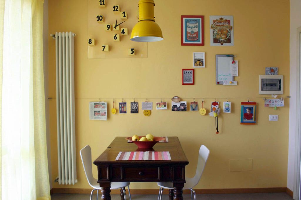 Idee Pareti Foto : Pareti colorate e idee fai da te casafacile