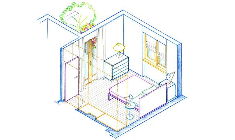 Da 38 a 76 mq: comprando l'appartamento di sopra la casa raddoppia!