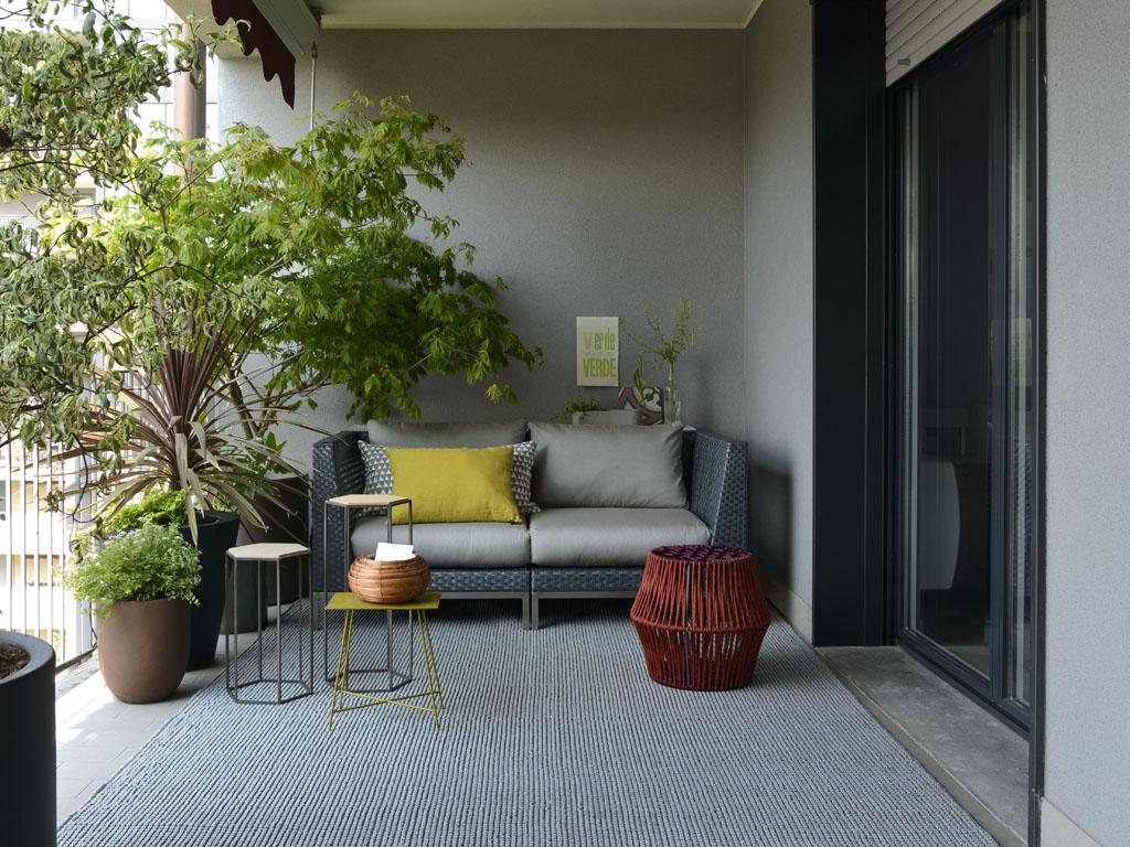 Con gli arredi da esterni giusti il terrazzo è un salotto all