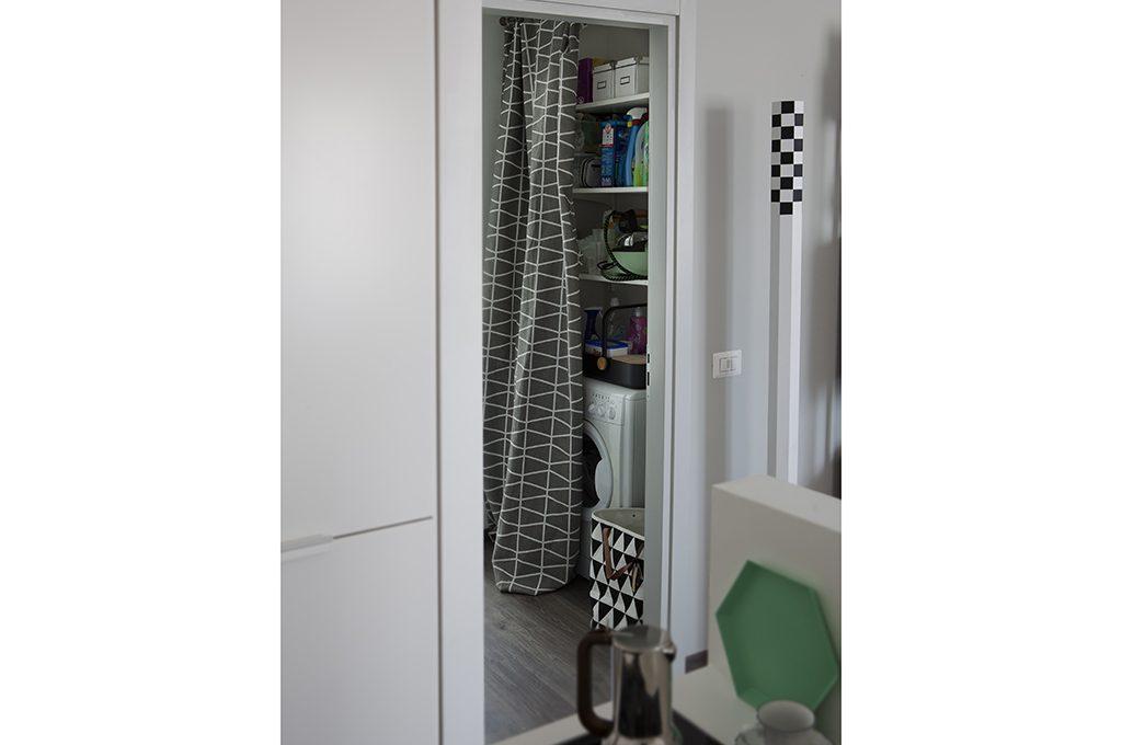 12 soluzioni con una tenda cabina armadio lavanderia - Creare un bagno con sanitrit ...