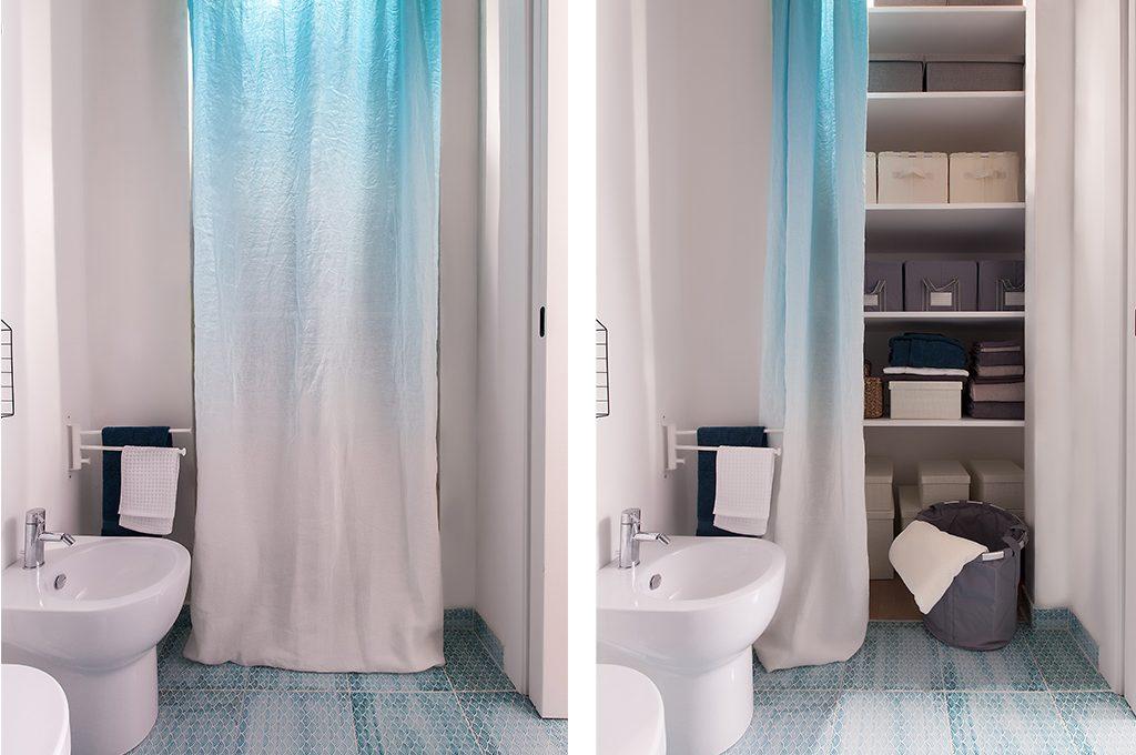 12 soluzioni con una tenda cabina armadio lavanderia ripostiglio casafacile - Mobili per ripostiglio ...