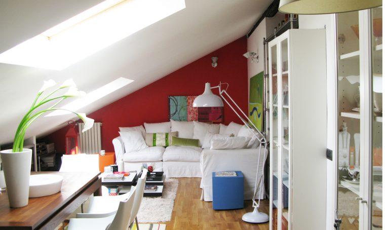 5 buoni motivi per abitare in mansarda