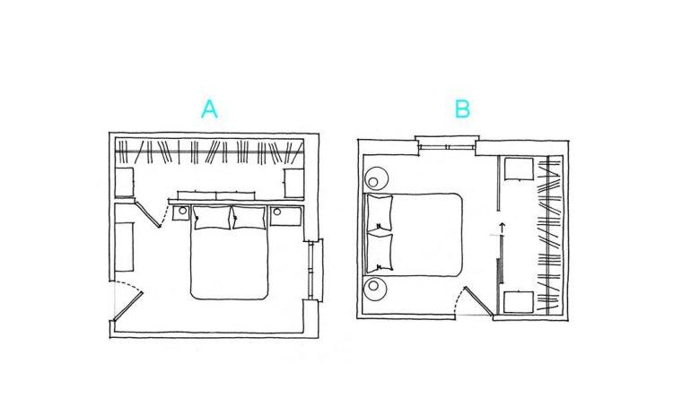Come progettare la cabina armadio
