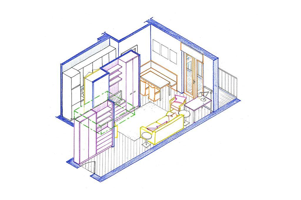 Progetto: da angolo cottura a cucina (quasi) abitabile - CASAfacile