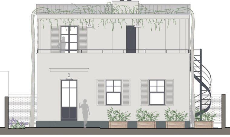 Ristrutturare: un piano in più con terrazzo e zona ospiti