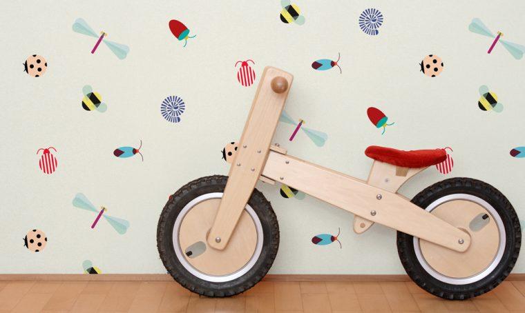 10 tappezzerie per la baby cameretta