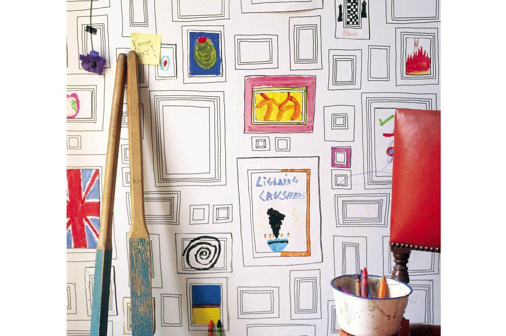 10 carte da parati per la cameretta dei ragazzi casafacile for Carta da parati camera ragazzi