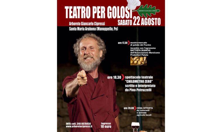 Teatro per Golosi all'Arboreto Giancarlo Cipressi