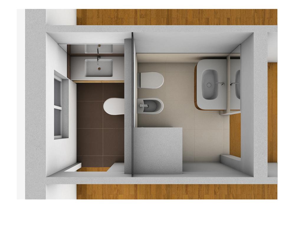 Creare secondo bagno lavanderia e cabina armadio in pi - Idee per realizzare un bagno ...