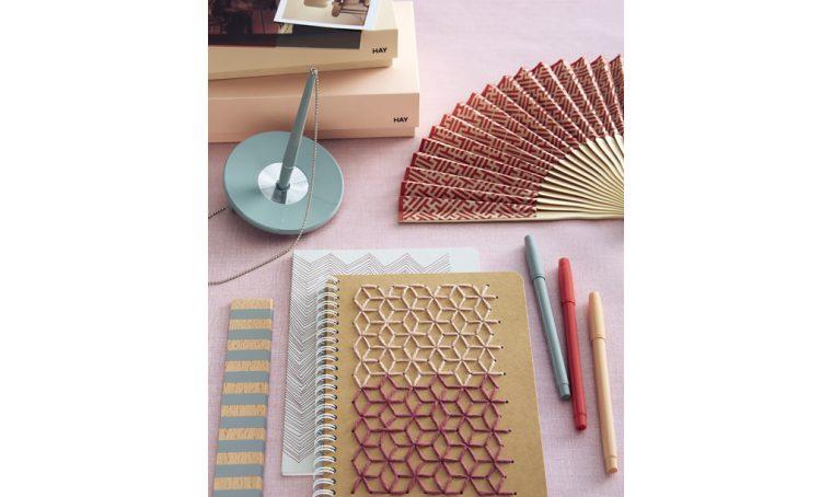Come personalizzare i quaderni con il ricamo