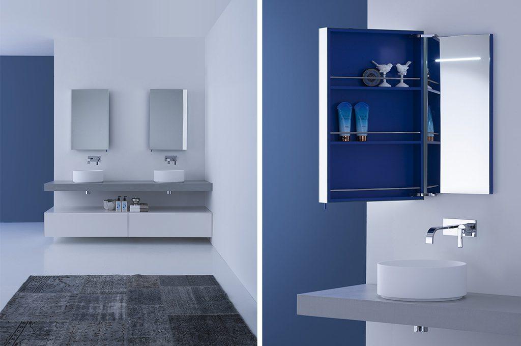 Come scegliere lo specchio per il bagno casafacile - Specchio per il bagno ...
