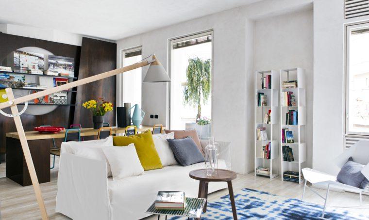 Come illuminare la zona del divano