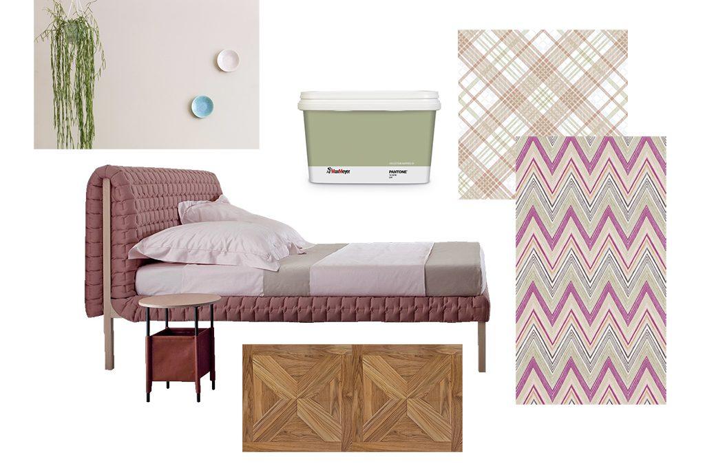 Come abbinare colori decori e texture in camera da letto casafacile - Abbinamento colori camera da letto ...
