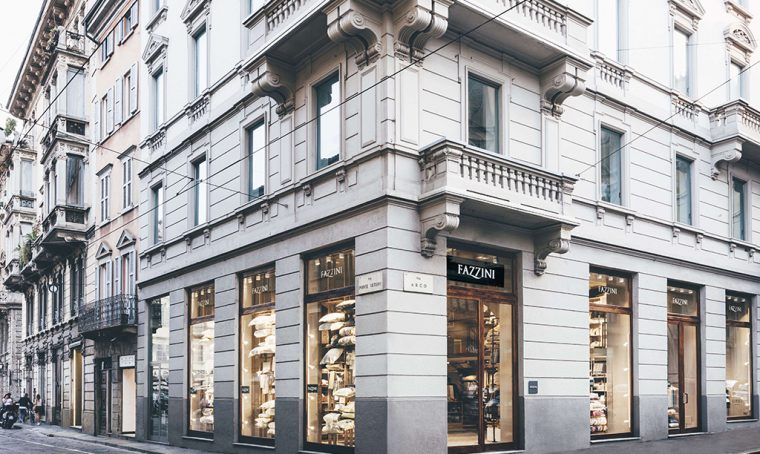Fazzini apre il nuovo flagship store a Milano