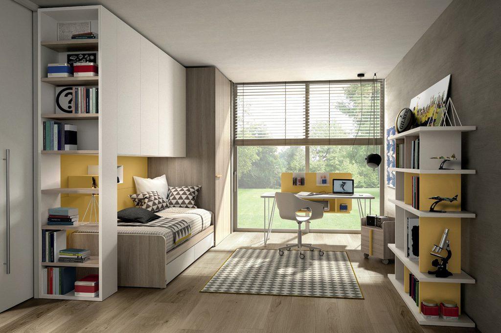 10 camerette per teenager casafacile - Camera bimba ikea ...