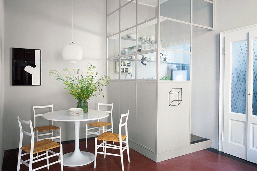 Crea una stanza nella stanza con le pareti vetrate - Cucina con vetrata a vista ...