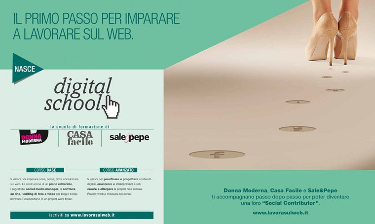 La Digital School di CasaFacile, DonnaModerna e Sale&Pepe