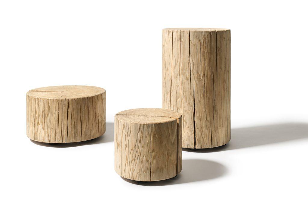 Un ceppo di legno diventa un oggetto di design casafacile - Oggetti di design in legno ...