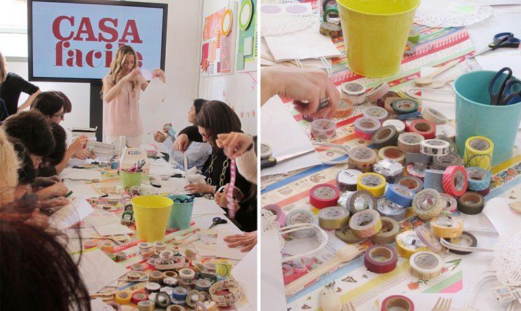 Il lato creativo del cartone: workshop con le blogger