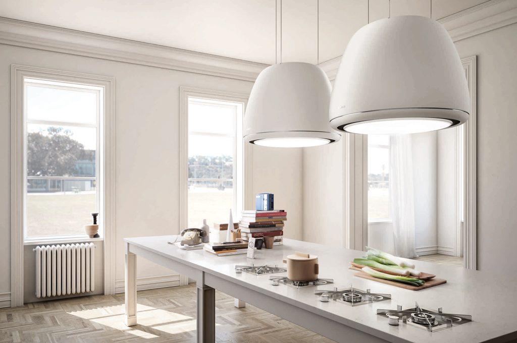 11 cappe aspiranti per la cucina casafacile for Cappa cucina design
