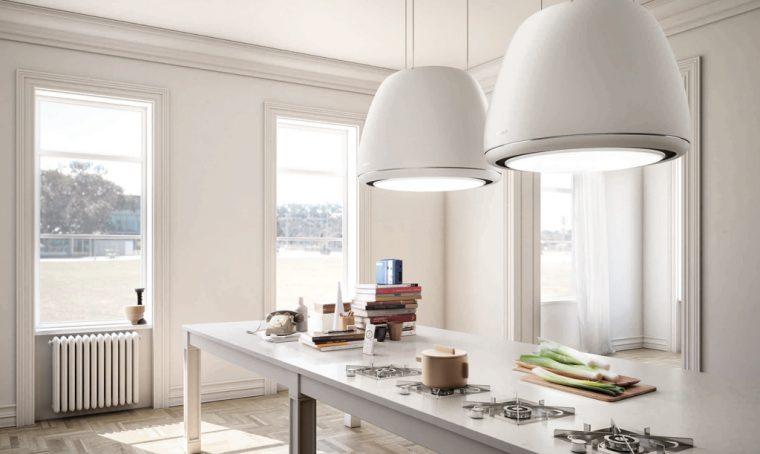 11 cappe aspiranti per la cucina