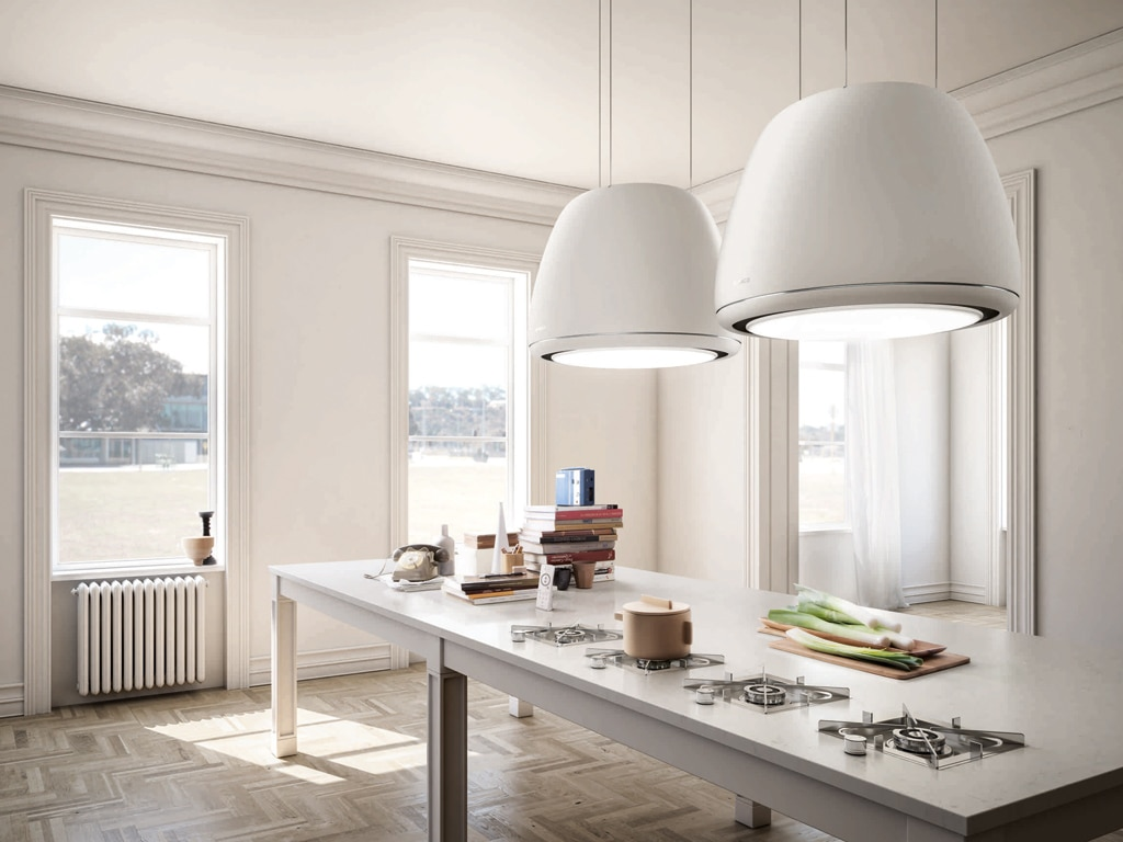 Plafoniera Per Cappa Cucina Industriale : 11 cappe aspiranti per la cucina casafacile