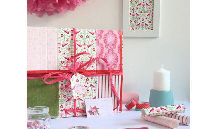 Workshop creativo: una scatola di cartone diventa un super pacco regalo