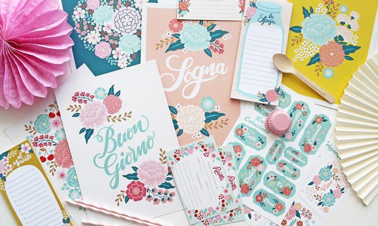 Gusto Menta: la nuova collezione di cartoleria e decori