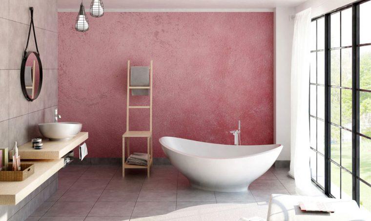 Rivestimenti vinilici effetto cementine casafacile - Come pitturare una camera da letto ...