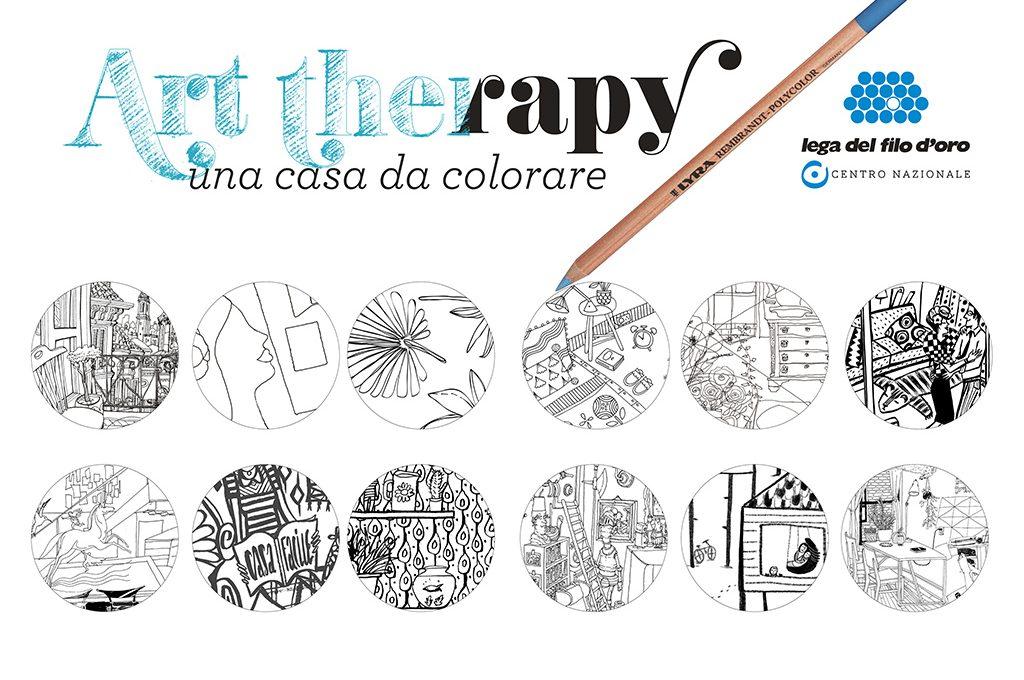 Art Therapy Una Casa Da Colorare Partecipa Al Concorso Casafacile