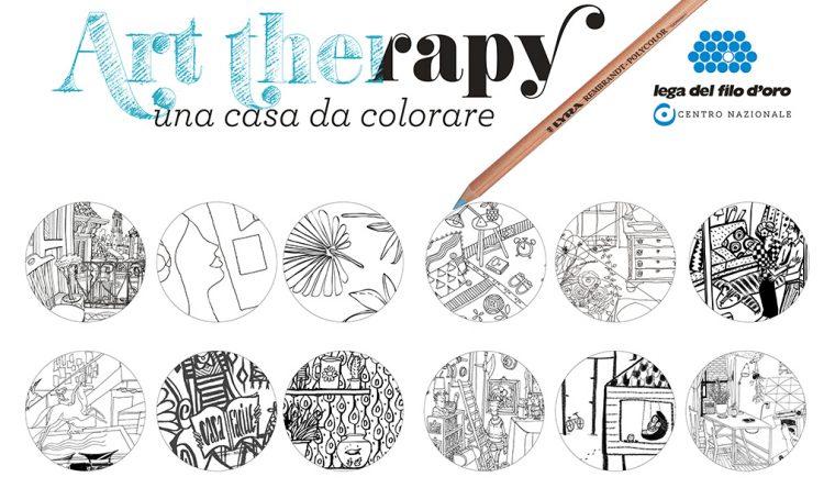 Art Therapy, una casa da colorare: partecipa al concorso!