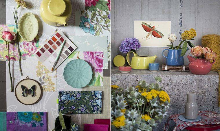 Come arredare con i fiori (veri, stampati, dipinti…)