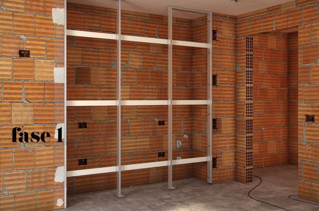 Armadi A Muro Immagini : L armadio a muro per nascondere lavanderia ripostiglio