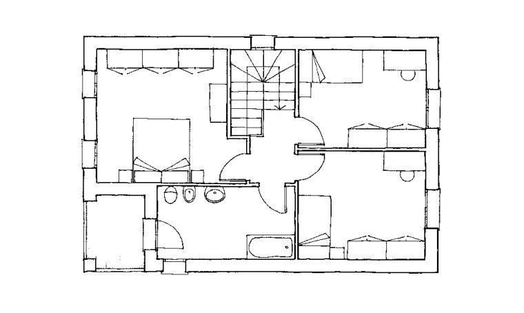 Come arredare 2 camerette… e creare il secondo bagno!