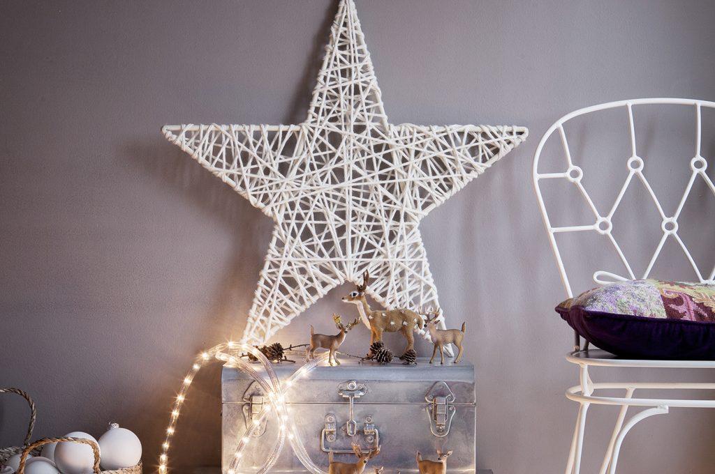 Addobbi di Natale last minute  la stella di lana - CASAfacile ccfb0bcbd464