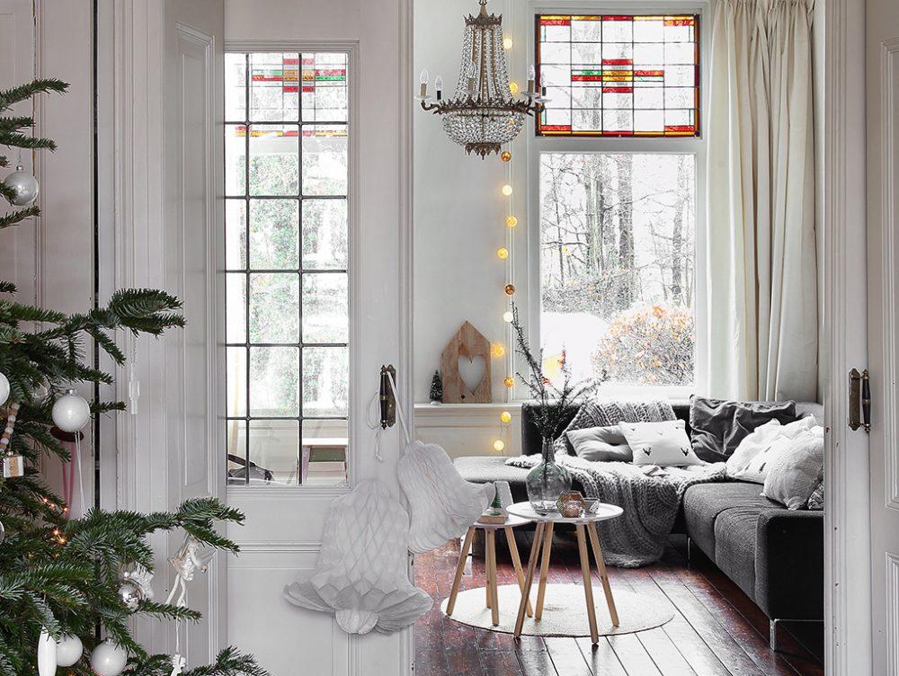 Decorazioni di Natale e stile nordico