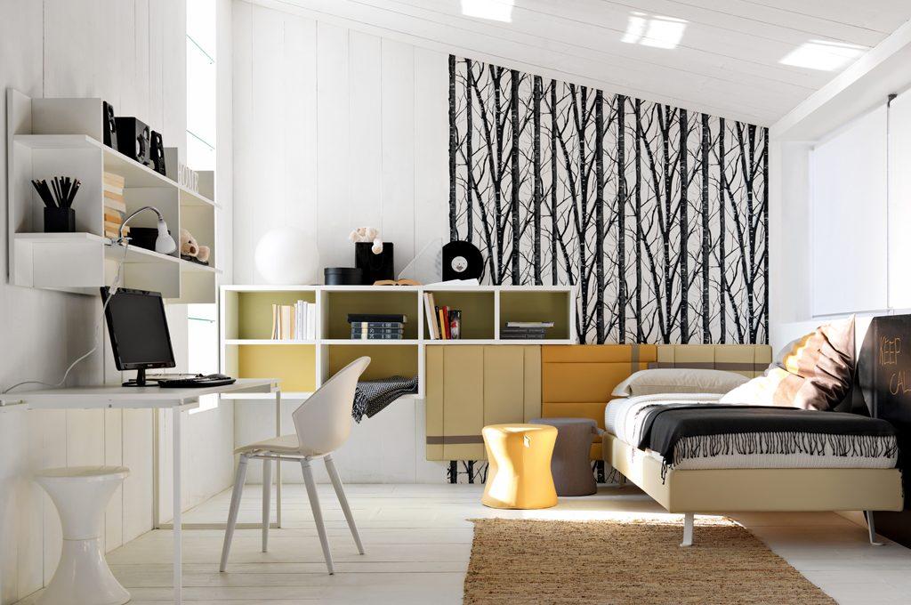 Camerette 8 progetti su misura casafacile for Piani e disegni di casa con 2 camere da letto