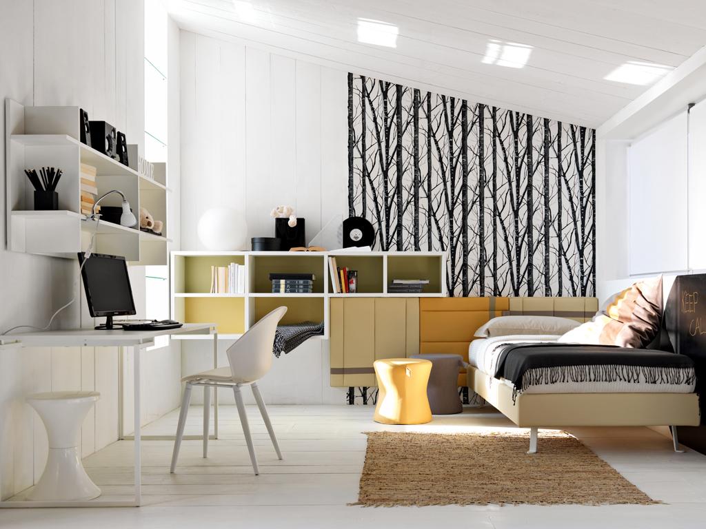 Camerette 8 progetti su misura casafacile - Camera da letto doppia ...