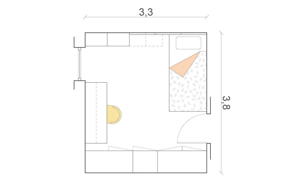 Disegnare progetto casa perfect progetto bagno mq come for Disegnare progetti