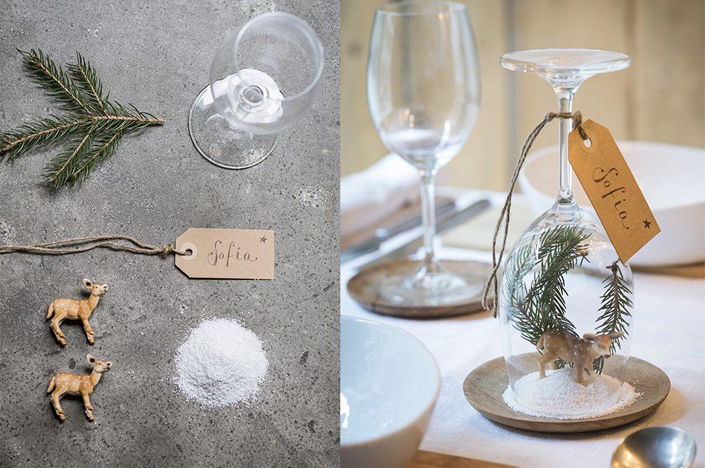 Idee segnaposto per la tavola di natale casafacile - Tavola valdese progetti approvati 2015 ...